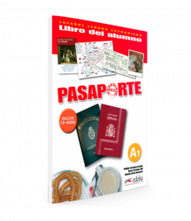 Pasaporte A1 Libro del alumno + Audio CD / Підручник для учня