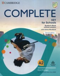 Complete Key for Schools (2nd Edition) Student's Book without answers with Online Workbook / Підручник + онлайн зошит