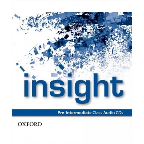 Insight Pre-Intermediate Class Audio CDs / Аудіо диск