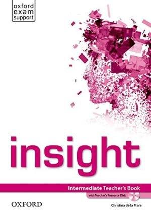 Insight Intermediate Teacher's Book with Teacher's Resource Disk / Підручник для вчителя