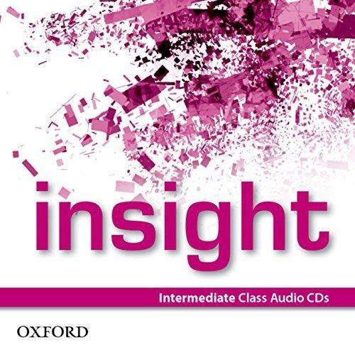 Insight Intermediate Class Audio CDs / Аудіо диск