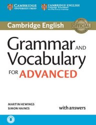 Cambridge English: Grammar and Vocabulary for Advanced with answers and Downloadable Audio