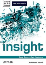 Insight Upper-Intermediate Workbook with Online Practice Oxford University Press
