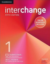 Interchange (5th Edition) 1 Student's Book with Online Self-Study and Online Workbook / Підручник для учня