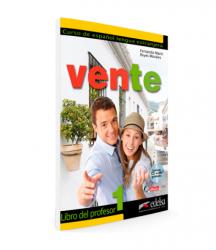 Vente 1 (A1+A2) Libro del profesor + Audio CD GRATUITA / Підручник для вчителя