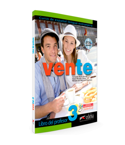 Vente 3 (B2) Libro del profesor + Audio CD GRATUITA / Підручник для вчителя