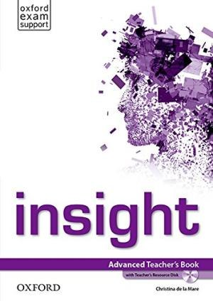 Insight Advanced Teacher's Book with Teacher's Resource Disk / Підручник для вчителя