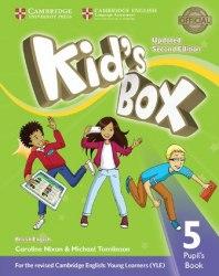 Kid's Box Updated Level 5 Pupil's Book British English / Підручник для учня