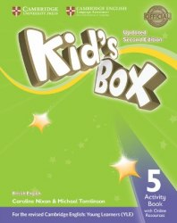 Kid's Box Updated Level 5 Activity Book with Online Resources British English / Робочий зошит