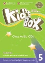 Kid's Box Updated Level 5 Class Audio CDs British English / Аудіо диск