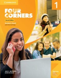 Four Corners (2nd Edition) 1 Student's Book with Online Self-Study / Підручник для учня