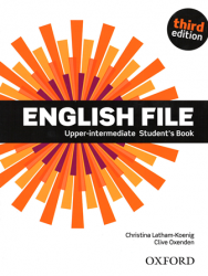 English File (3rd Edition) Upper-Intermediate Student's Book / Підручник для учня