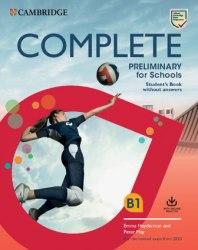 Complete Preliminary for Schools Student's Pack / Набір книг, підручник + зошит