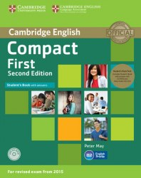 Compact First (2nd Edition) Student's Book with answers and CD-ROM and Class CDs / Підручник для учня з відповідями