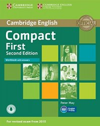 Compact First (2nd Edition) Workbook with answers and Downloadable Audio / Робочий зошит