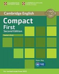 Compact First (2nd Edition) Teacher's Book / Підручник для вчителя