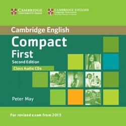 Compact First (2nd Edition) Class Audio CDs / Аудіо диск