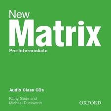 New Matrix Pre-Intermediate Audio Class CDs / Аудіо диск