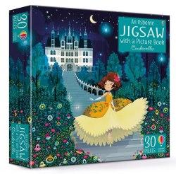 Cinderella Book and Jigsaw / Книга з пазлом