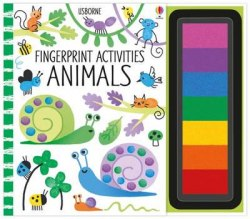 Fingerprint Activities: Animals / Розмальовка