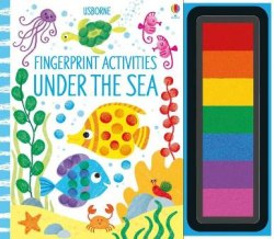 Fingerprint Activities: Under the Sea / Розмальовка