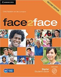 Face2face (2nd Edition) Starter Student's Book with DVD-ROM / Підручник для учня