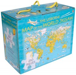Map of the World Boxed Jigsaw / Пазли
