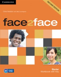 Face2face (2nd Edition) Starter Workbook with key / Робочий зошит