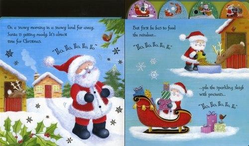 Noisy Touchy-Feely. Santa / Книга зі звуковим ефектом