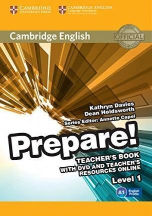 Cambridge English Prepare! 1 Teacher's Book with DVD and Teacher's Resources Online / Підручник для вчителя