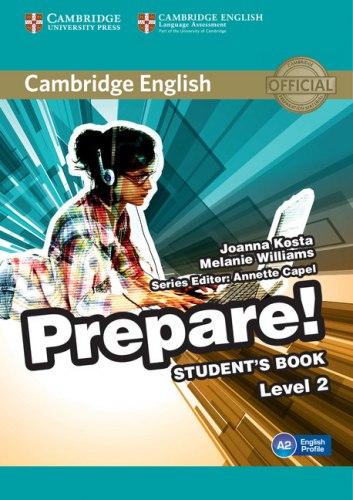 Cambridge English Prepare! 2 Student's Book / Підручник для учня