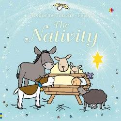 Sparkly Touchy-Feely Nativity / Книга з тактильними відчуттями