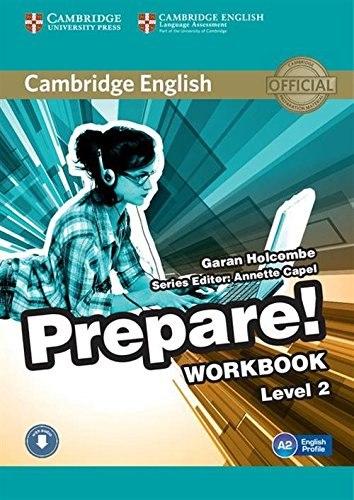 Cambridge English Prepare! 2 Workbook with Downloadable Audio / Робочий зошит