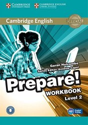 Cambridge English Prepare! 2 Workbook with Downloadable Audio / Робочий зошит