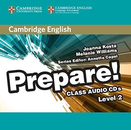 Cambridge English Prepare! 2 Class Audio CDs / Аудіо диск