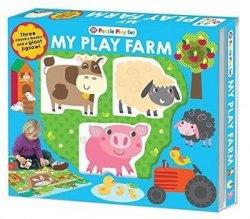 Puzzle Play Set: My Play Farm / Книга-гра