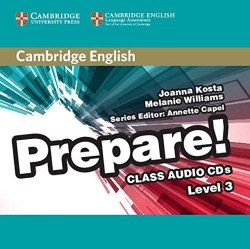 Cambridge English Prepare! 3 Class Audio CDs / Аудіо диск