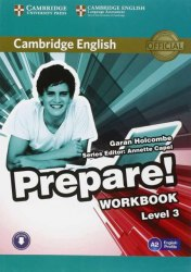 Cambridge English Prepare! 3 Workbook with Downloadable Audio / Робочий зошит