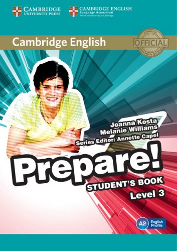 Cambridge English Prepare! 3 Student's Book / Підручник для учня