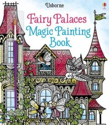 Fairy Palaces Magic Painting Book / Розмальовка