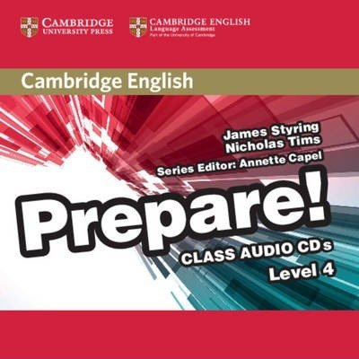 Cambridge English Prepare! 4 Class Audio CDs / Аудіо диск