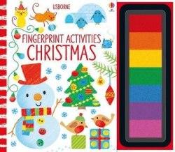 Fingerprint Activities: Christmas / Розмальовка