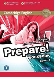 Cambridge English Prepare! 4 Workbook with Downloadable Audio / Робочий зошит