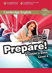 Cambridge English Prepare! 4 Student's Book / Підручник для учня