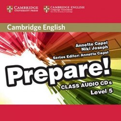 Cambridge English Prepare! 5 Class Audio CDs / Аудіо диск