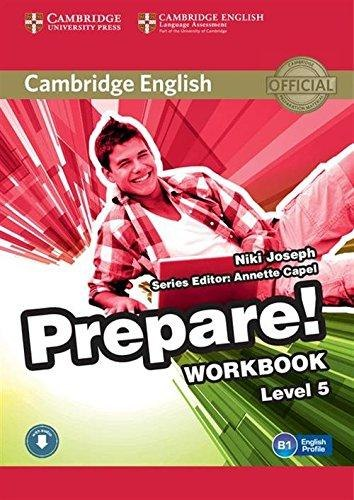 Cambridge English Prepare! 5 Workbook with Downloadable Audio / Робочий зошит