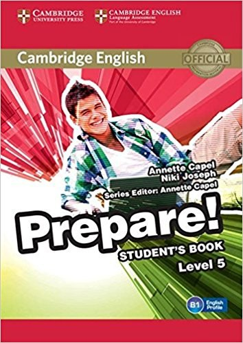 Cambridge English Prepare! 5 Student's Book / Підручник для учня