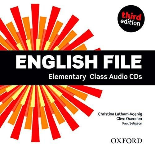 English File (3rd Edition) Elementary Class Audio CDs / Аудіо диск