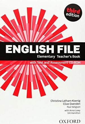 English File (3rd Edition) Elementary Teacher's Book with Test and Assessment CD-ROM / Підручник для вчителя