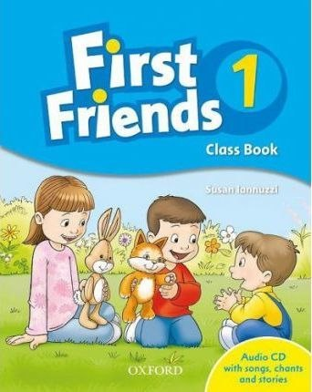 First Friends 1 Class Book with Audio CD / Підручник для учня